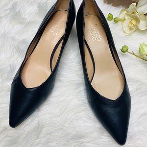 Franco Sarto. Black Heels. 9.5